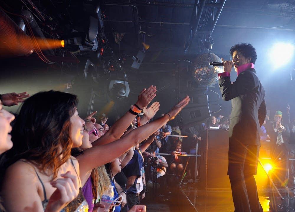 Prince et ses fans