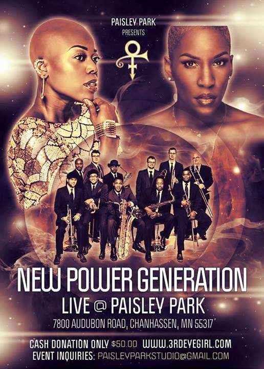Prince & The NPG a Paisley Park