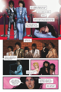 comic book Purple Rain Era