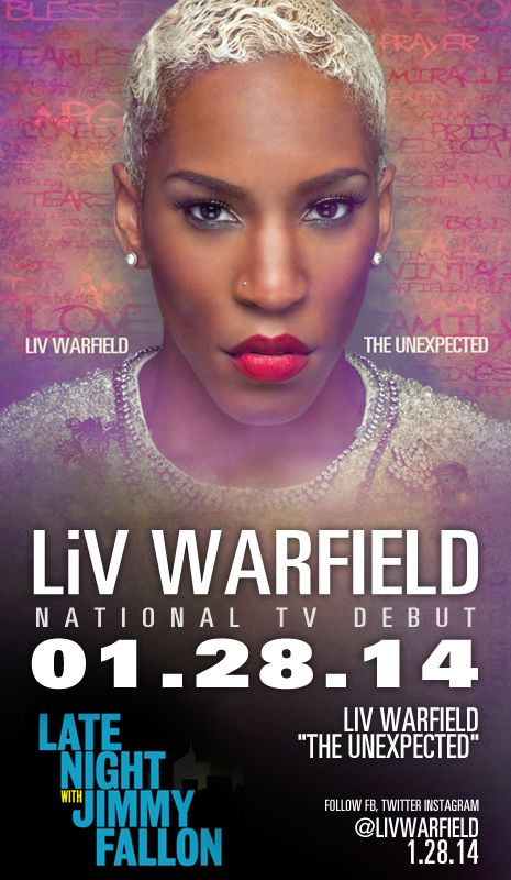 Liv Warfield - Jimmy Fallon