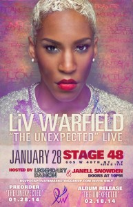 Liv Warfield live NYC