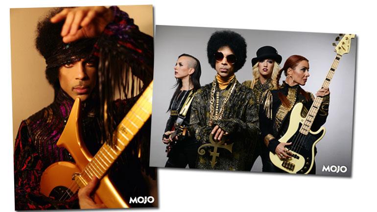 Les posters de Prince dans le MOJO de Mars 2014
