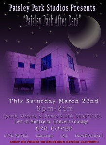 Paisley Park After Dark 220314