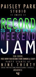 Record store Jam