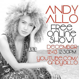 Andy allo youtube
