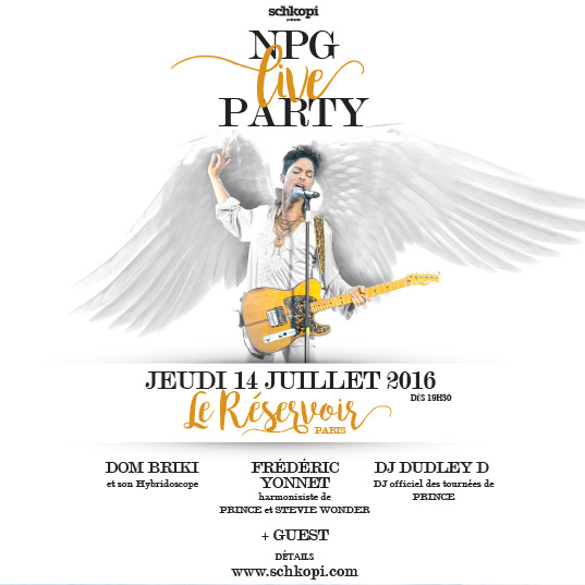 flyer npg party